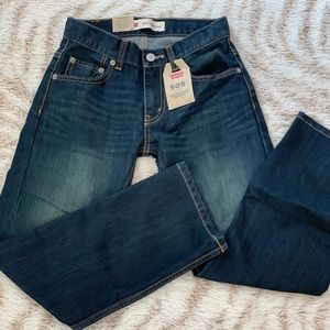 New!! Boys Levi 505 Jeans 10 regular 25x25